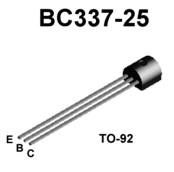 For T1 and T2, we use the BC337-25