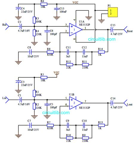 Category pathway 29 on amplifier schematics