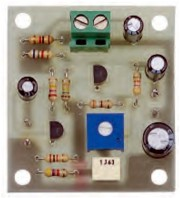 The electronic board of the 3rd preamplifier