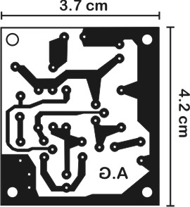 Printed Circuit Board artwork for the 2nd circuit