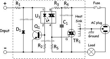 solid state relay ac solid state relay wiring diagram solid state relay wiring diagram light bulb #12