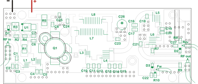 How to assemble the 50W Broadband Amplifier