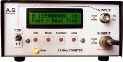 1.5GHz Signal Frequency Counter