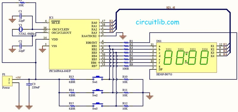 Simple clock diagram search for wiring diagrams simple digital clock rh circuitlib com simple block diagram reduction simple block diagram programs free ccuart