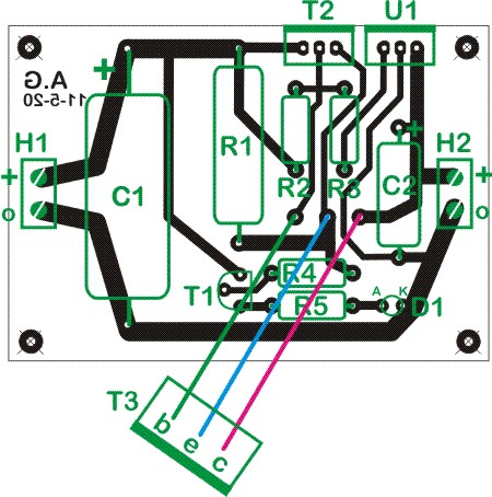 How to assemble the 5V/3A linear regulator
