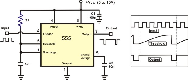 Simple frequency divider circuit
