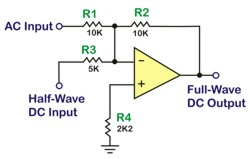 Full-wave precision rectifier