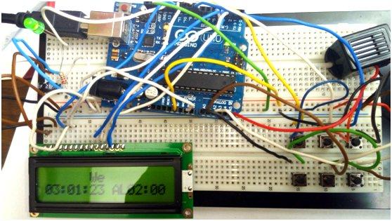 Arduino based Alarm Clock